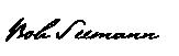 bob seemann signature